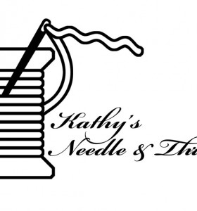 Kathy's Needle & Thread Logo