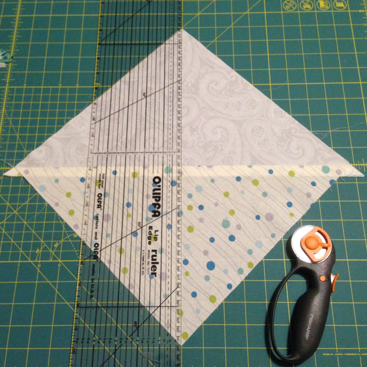 Lots of work goes into half square triangles. Wash, rinse, repeat. - Quilting Progress at Stacey Sansom Designs