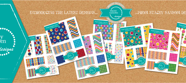 Fabric Collection | Bright Delights Fabric Collection | Stacey Sansom Designs