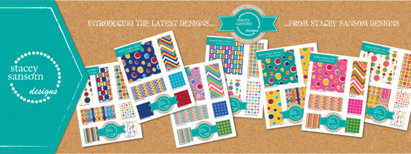 Bright Delights Fabric Collection from Stacey Sansom Designs - Custom Fabric Design