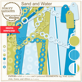 Sand and Water Digital Kit from Stacey Sansom Designs