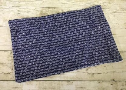 Ice Pack Cover - Navy Half Circles Stripe - 6x8