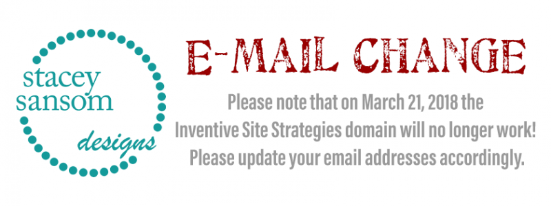Discontinuation of Inventive Site Strategies email