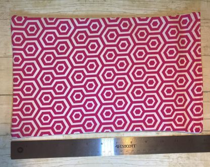 Ice Pack Cover - Magenta Hexagons - 8x12