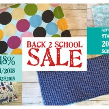 2018 Back to School Sale