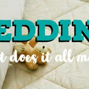 Bedding: What does it all mean?   Opinion Piece   Stacey Sansom Designs