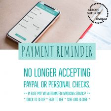 Payment Policy Reminder