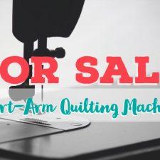 For Sale – Viking Hursqvarna Mega Quilter Short-Arm Quilting Machine