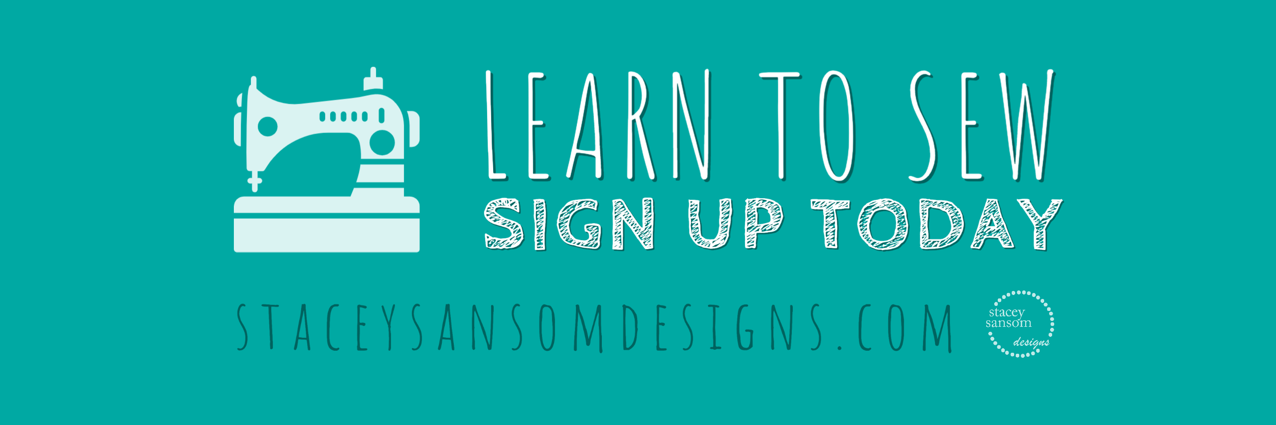 Learn to Sew | Sewing Class Registration Now Open! | Stacey Sansom Designs